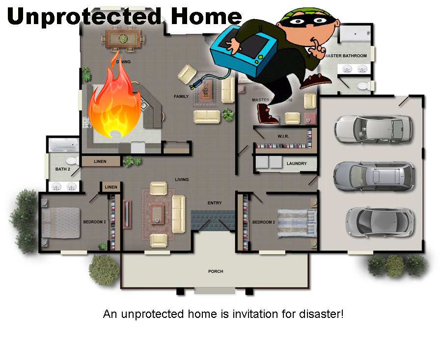 unprotected-home